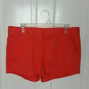 J.Crew Chino shorts.           Sz 12